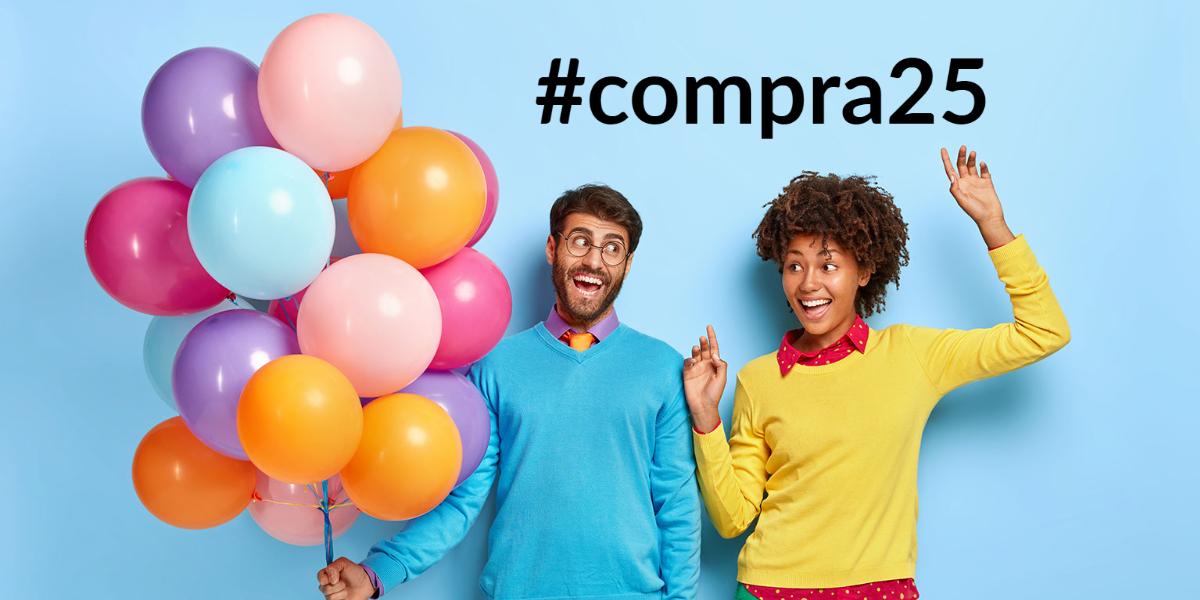 Compra bestaat 25 jaar!